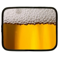Beer Foam Yellow Netbook Case (Large)