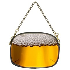 Beer Foam Yellow Chain Purses (Two Sides)