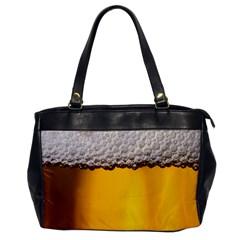 Beer Foam Yellow Office Handbags