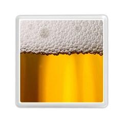 Beer Foam Yellow Memory Card Reader (Square)