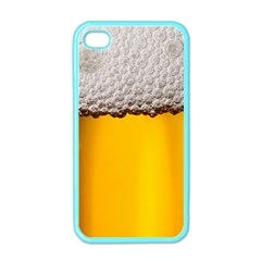 Beer Foam Yellow Apple iPhone 4 Case (Color)