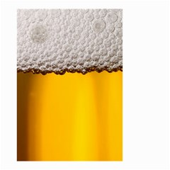 Beer Foam Yellow Small Garden Flag (Two Sides)