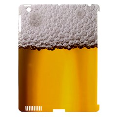 Beer Foam Yellow Apple iPad 3/4 Hardshell Case (Compatible with Smart Cover)
