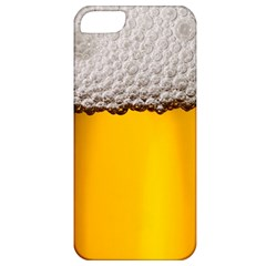 Beer Foam Yellow Apple iPhone 5 Classic Hardshell Case