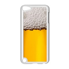 Beer Foam Yellow Apple iPod Touch 5 Case (White)