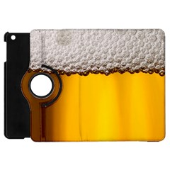 Beer Foam Yellow Apple iPad Mini Flip 360 Case