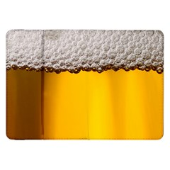 Beer Foam Yellow Samsung Galaxy Tab 8.9  P7300 Flip Case