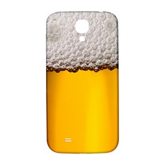 Beer Foam Yellow Samsung Galaxy S4 I9500/I9505  Hardshell Back Case