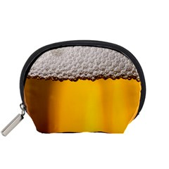 Beer Foam Yellow Accessory Pouches (Small)
