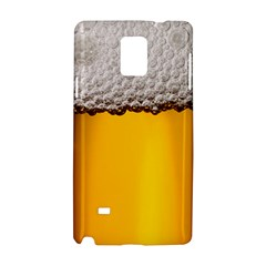 Beer Foam Yellow Samsung Galaxy Note 4 Hardshell Case