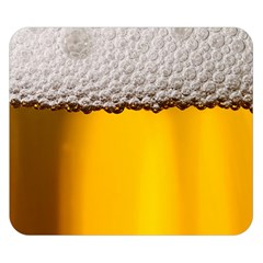 Beer Foam Yellow Double Sided Flano Blanket (Small)