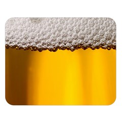 Beer Foam Yellow Double Sided Flano Blanket (Large)