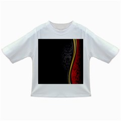 Black Red Yellow Infant/Toddler T-Shirts