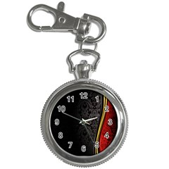 Black Red Yellow Key Chain Watches