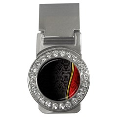 Black Red Yellow Money Clips (CZ)