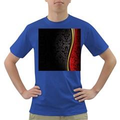 Black Red Yellow Dark T-Shirt