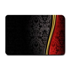 Black Red Yellow Small Doormat