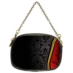 Black Red Yellow Chain Purses (One Side)