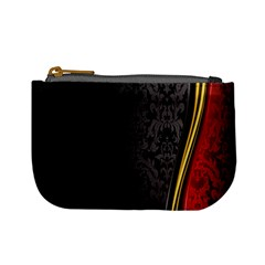 Black Red Yellow Mini Coin Purses