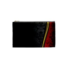 Black Red Yellow Cosmetic Bag (Small)
