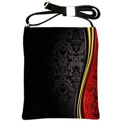 Black Red Yellow Shoulder Sling Bags
