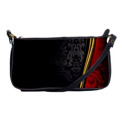 Black Red Yellow Shoulder Clutch Bags
