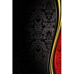 Black Red Yellow 5.5  x 8.5  Notebooks
