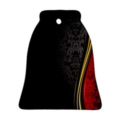 Black Red Yellow Ornament (Bell)