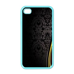 Black Red Yellow Apple iPhone 4 Case (Color)
