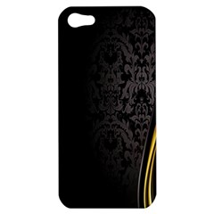 Black Red Yellow Apple iPhone 5 Hardshell Case