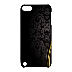 Black Red Yellow Apple iPod Touch 5 Hardshell Case with Stand