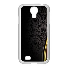 Black Red Yellow Samsung GALAXY S4 I9500/ I9505 Case (White)