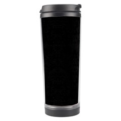 Black Red Yellow Travel Tumbler