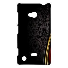Black Red Yellow Nokia Lumia 720