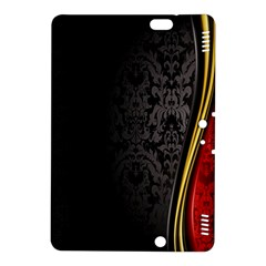 Black Red Yellow Kindle Fire HDX 8.9  Hardshell Case