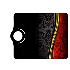 Black Red Yellow Kindle Fire HDX 8.9  Flip 360 Case