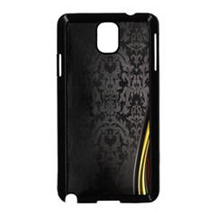 Black Red Yellow Samsung Galaxy Note 3 Neo Hardshell Case (Black)