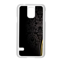 Black Red Yellow Samsung Galaxy S5 Case (White)