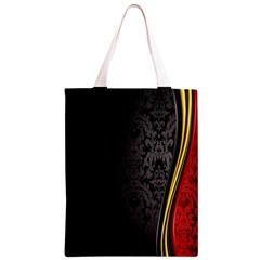 Black Red Yellow Classic Light Tote Bag