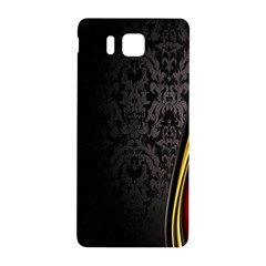 Black Red Yellow Samsung Galaxy Alpha Hardshell Back Case