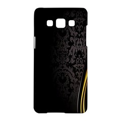 Black Red Yellow Samsung Galaxy A5 Hardshell Case
