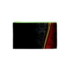 Black Red Yellow Cosmetic Bag (XS)