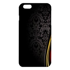Black Red Yellow iPhone 6 Plus/6S Plus TPU Case