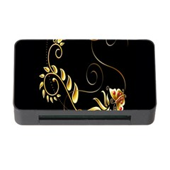 Butterfly Black Golden Memory Card Reader with CF