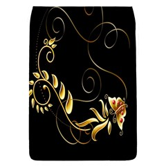 Butterfly Black Golden Flap Covers (S)