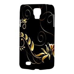 Butterfly Black Golden Galaxy S4 Active