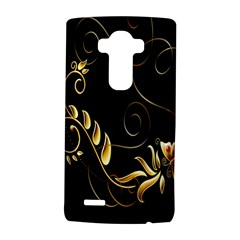 Butterfly Black Golden LG G4 Hardshell Case
