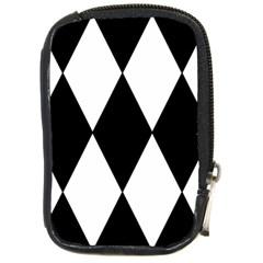 Chevron Black Copy Compact Camera Cases
