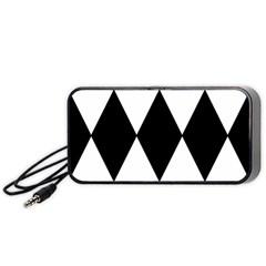 Chevron Black Copy Portable Speaker (Black)