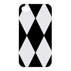 Chevron Black Copy Apple iPhone 4/4S Premium Hardshell Case